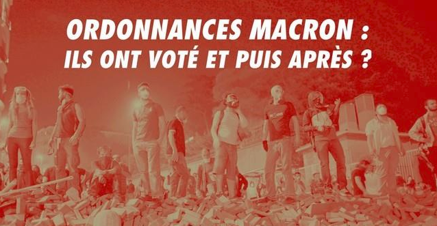 Décryptage des ordonnances Macron avec Laurent Degoussé de SUD Commerce
