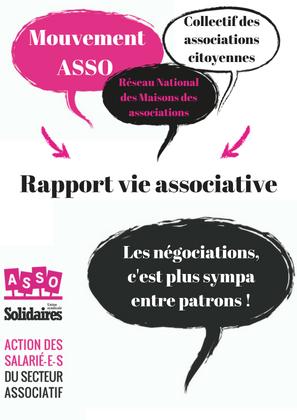 Sortie du rapport « Pour une politique de vie associative ambitieuse et le développement d'une société de l'engagement » : Mais où sont les 1,8 millions de salarié.e.s associatifs ?