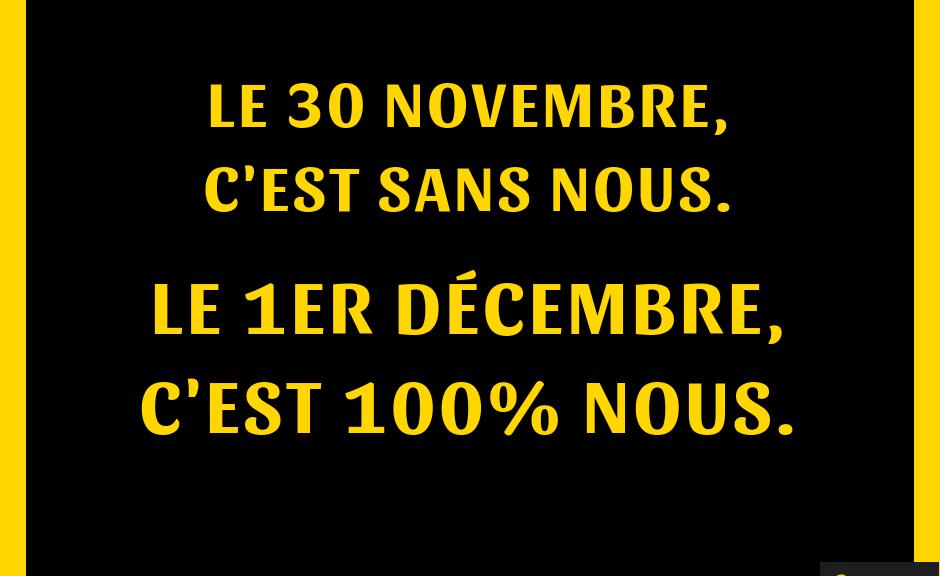 Appel à la grève des travailleur.se.s associatifs LES 30 NOVEMBRE ET 1ER DECEMBRE 2018