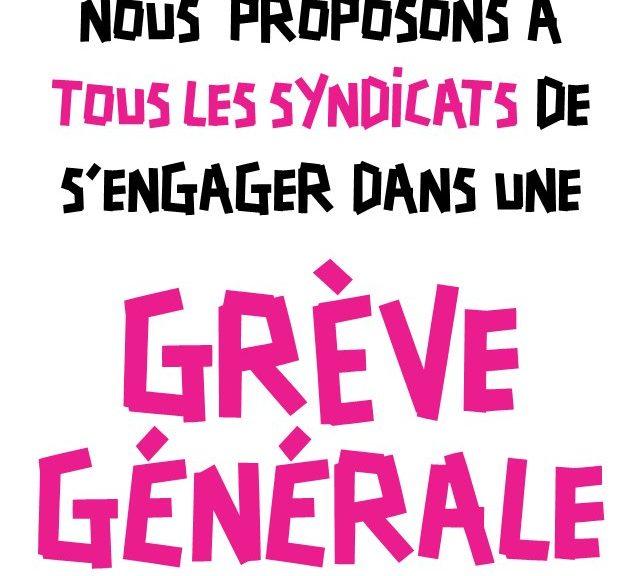– En grève, en nombre, le 5 février ! – Stop à l'enfumage gouvernemental, de Commercy à Toulouse, tou.tes dans la rue!