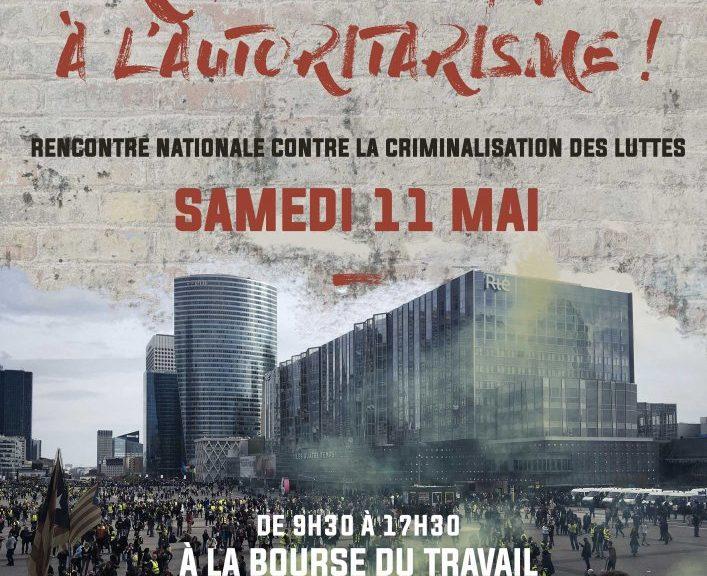 Rencontre nationale contre la criminalisation des luttes