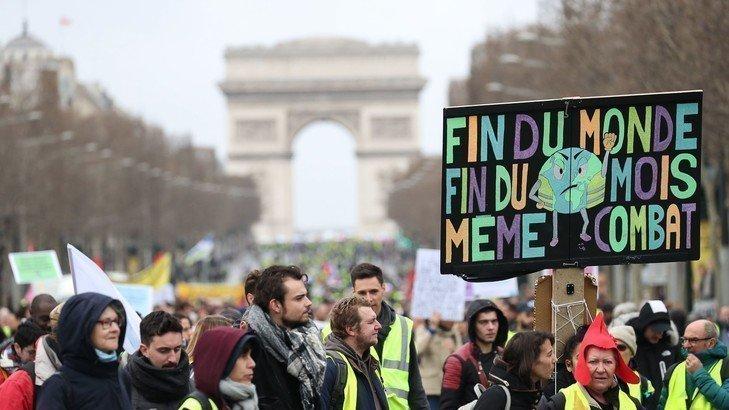 Appel de Gilets Jaunes aux écologistes pour une marche commune le 21 septembre
