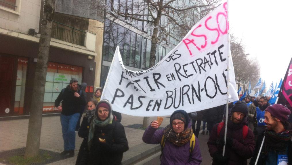 Participation massive et inédite des salarié.e.s des Assos à la journée du 5 décembre dernier