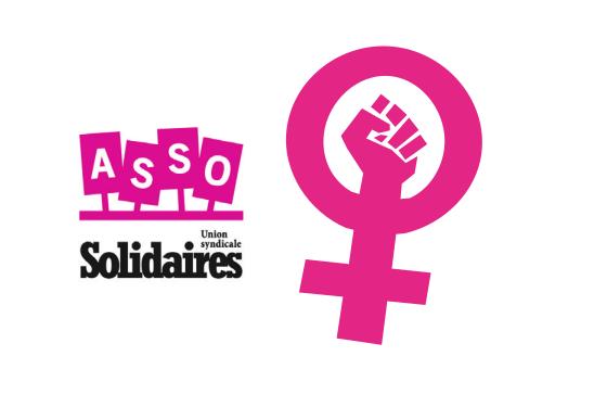 Le 8 mars 2021 Dans le secteur associatif aussi, on fait la grève féministe !