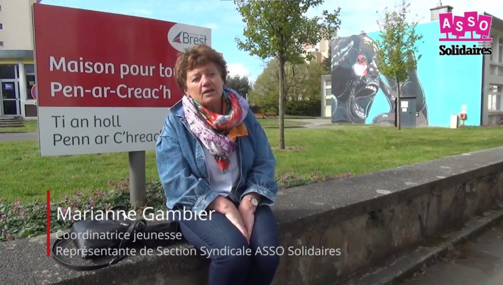 La lutte pour Marianne et Eva à la MPT Pen Ar Créac'h de Brest