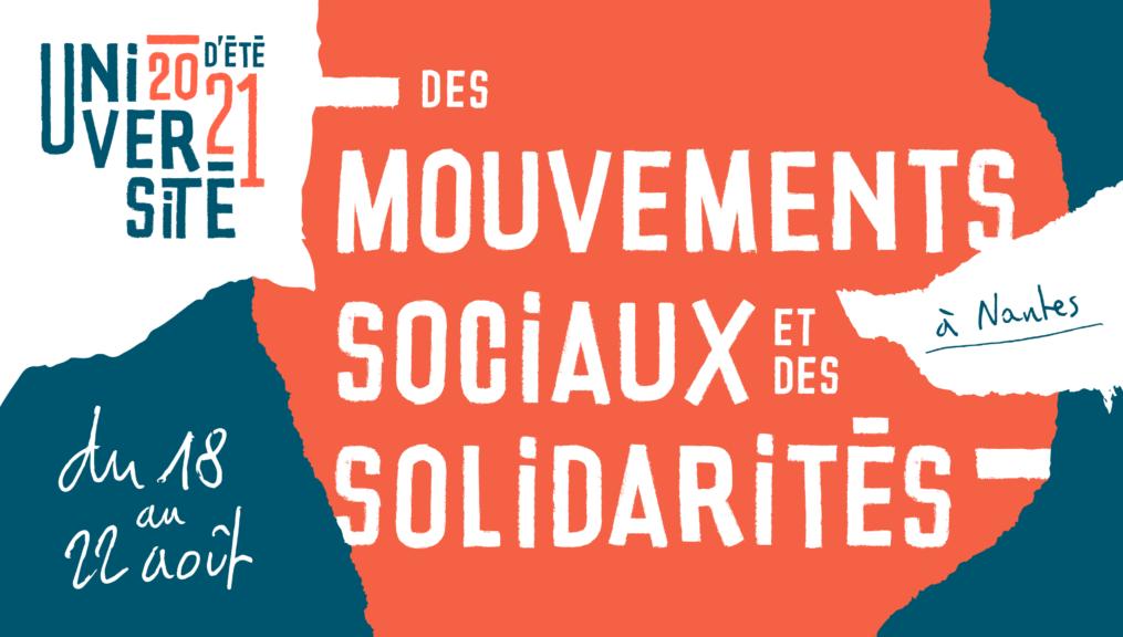 Le syndicat ASSO-Solidaires à l'Université d'été des mouvements sociaux et des solidarités
